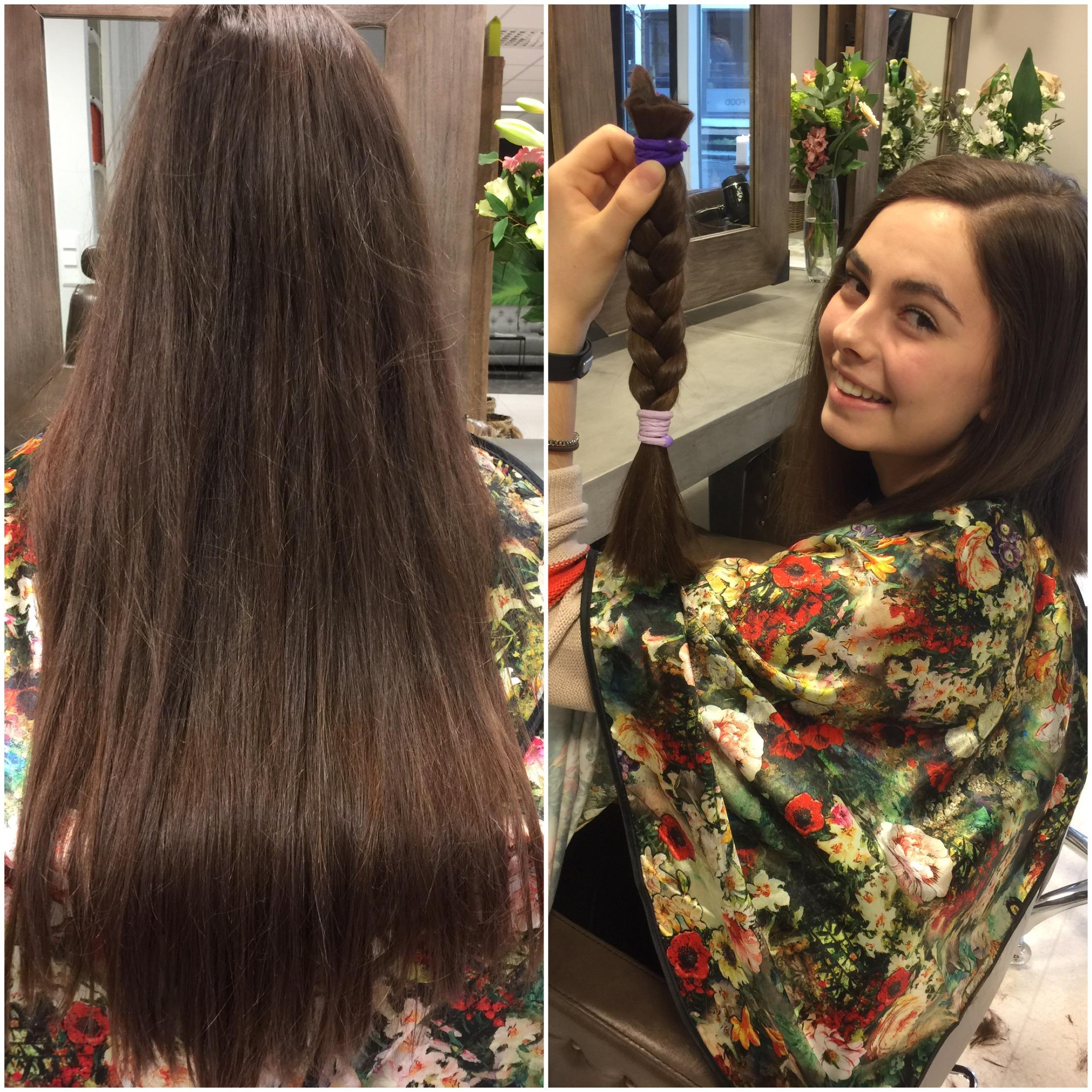 gi hår til kreftsyke
